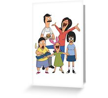 Dancing Belchers Greeting Card