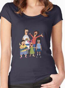 Dancing Belchers Women's Fitted Scoop T-Shirt