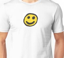 Anti Golf Smiley Face Unisex T-Shirt