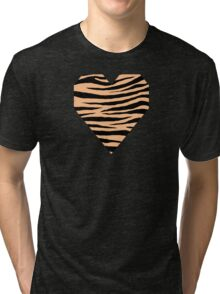 0391 Macaroni and Cheese Tiger Tri-blend T-Shirt