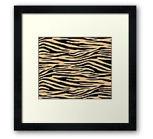 0391 Macaroni and Cheese Tiger Framed Print