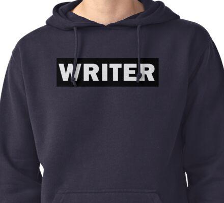 Writer Pullover Hoodie