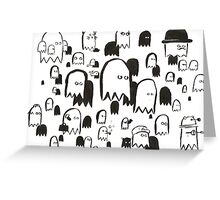 A Swarm of Ghosties Greeting Card