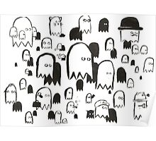 A Swarm of Ghosties Poster