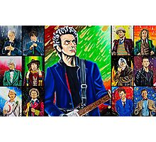 The Doctor of the Universe - The Silver Punk Photographic Print