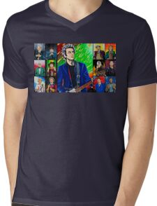 The Doctor of the Universe - The Silver Punk Mens V-Neck T-Shirt