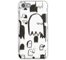 A Swarm of Ghosties iPhone Case/Skin