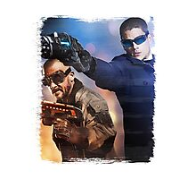 LOT - Captain Cold & Heatwave Paint Splash Photographic Print