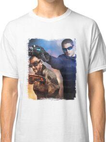 LOT - Captain Cold & Heatwave Paint Splash Classic T-Shirt