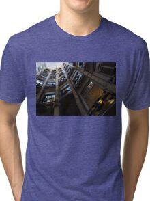 La Pedrera Courtyard – Antoni Gaudi's Masterpiece in Barcelona, Spain Tri-blend T-Shirt