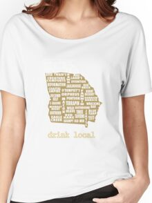 Drink Local - Georgia Beer Shirt Women's Relaxed Fit T-Shirt