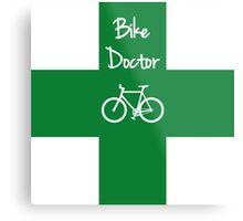 The Bike Doctor Metal Print