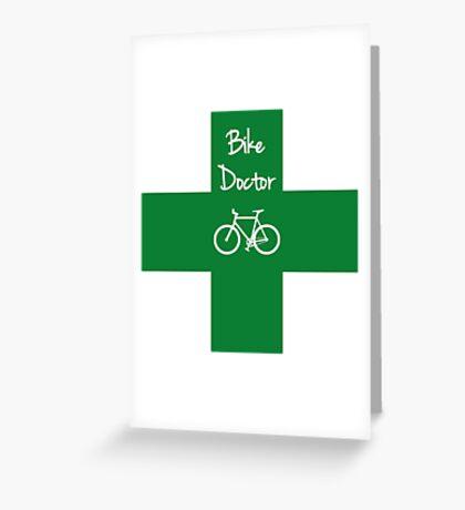 The Bike Doctor Greeting Card