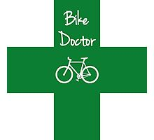 The Bike Doctor Photographic Print