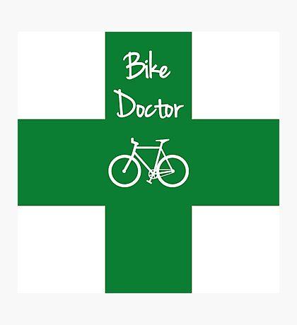 The Bike Doctor Photographic Print