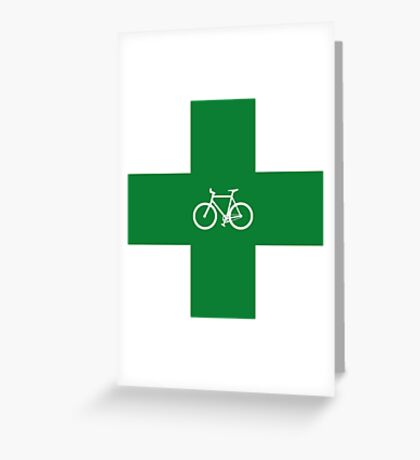Bike Pharmacy Greeting Card