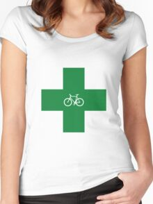 Bike Pharmacy Women's Fitted Scoop T-Shirt