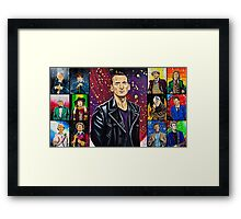 The Doctor of the Universe - The Survivor Framed Print