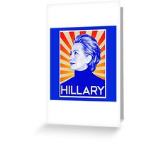 Hillary for President Greeting Card