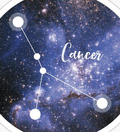Cancer Zodiac Sign, June 21 - July 22 Sticker