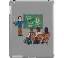 Evil vs Walking iPad Case/Skin