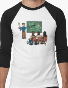 Evil vs Walking Men's Baseball ¾ T-Shirt