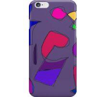 Dark Purple Gray iPhone Case/Skin