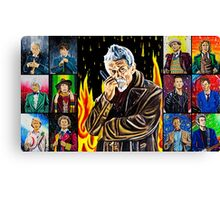 The Doctor of the Universe - The Warrior Canvas Print