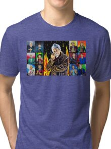 The Doctor of the Universe - The Warrior Tri-blend T-Shirt