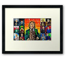 The Doctor of the Universe - The Romantic Framed Print