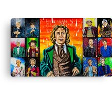 The Doctor of the Universe - The Romantic Canvas Print