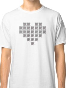 The cube is love, the cube is life -white- Classic T-Shirt