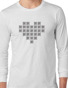 The cube is love, the cube is life -white- Long Sleeve T-Shirt