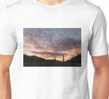 Washington National Mall Skyline and a Spectacular Sky Unisex T-Shirt
