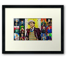 The Doctor of the Universe - The False Clown Framed Print