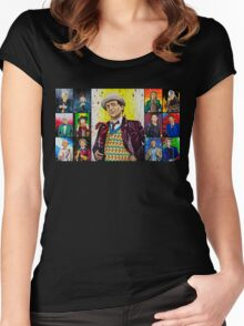 The Doctor of the Universe - The False Clown Women's Fitted Scoop T-Shirt