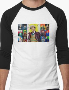 The Doctor of the Universe - The False Clown Men's Baseball ¾ T-Shirt