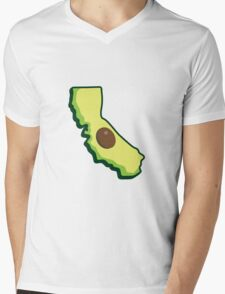California Fresh Mens V-Neck T-Shirt