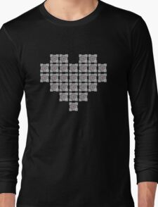 The cube is love, the cube is life -black- Long Sleeve T-Shirt