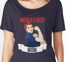 World's Best Mom Women's Relaxed Fit T-Shirt