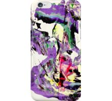 It's not worth crying over spilt milk - Original Wall Modern Abstract Art Painting Original mixed media iPhone Case/Skin