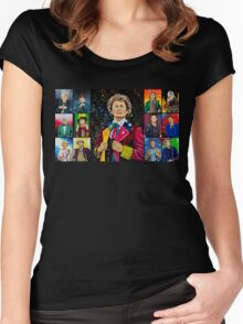 The Doctor of the Universe - The Dark Clown Women's Fitted Scoop T-Shirt
