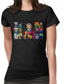 The Doctor of the Universe - The Dark Clown Womens Fitted T-Shirt