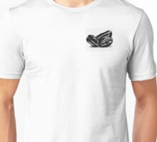 Coffee Bean Black and White Graphic Unisex T-Shirt