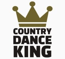 Country dance king One Piece - Short Sleeve