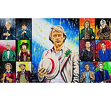 The Doctor of the Universe - The Athlete Photographic Print