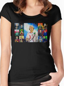 The Doctor of the Universe - The Athlete Women's Fitted Scoop T-Shirt