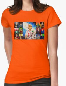 The Doctor of the Universe - The Athlete Womens Fitted T-Shirt