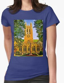 Study in Boston College Womens Fitted T-Shirt
