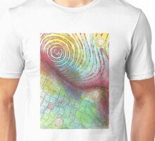 FLIP-FLAP mixed media Unisex T-Shirt